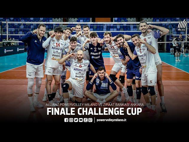 CEV Challenge Cup, promo finale d'andata