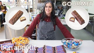 Download Pastry Chef Attempts to Make Gourmet Snickers | Gourmet Makes | Bon Appétit Mp3 and Videos