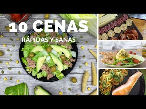 10 CENAS RÁPIDAS Y SANAS