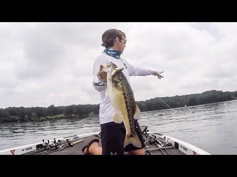 MAGNUM Topwater & Swimbait Spotted Bass! - Lake Lanier