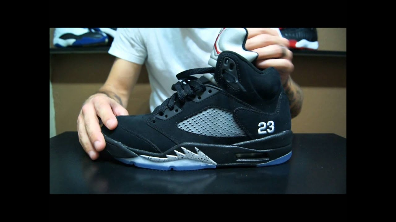 best service 2a78d 69d39 Air Jordan V (5) Retro Black  Metallic Silver 2011 Review