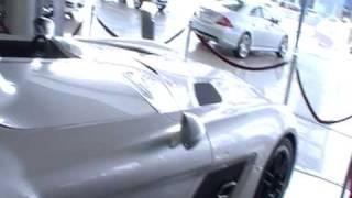 Hasan Kutbi Checking Mercedes Benz SLR McLaren Stirling Moss 2 out of 2 Jeddah Saudi Arabia