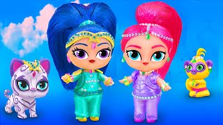 Never Too Old for Dolls! 8 Shimmer and Shine LOL Surprise DIYs