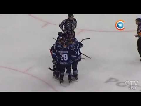 ХК «Динамо-Минск» в родных стенах отгрузил тольяттинской «Ладе» восемь шайб и победил со счетом 8:3