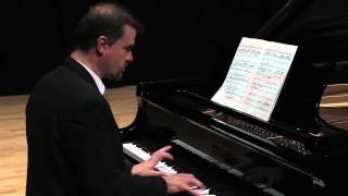 Albéniz: Mallorca (Barcarola) for clarinet and piano - Luis Fernandez plays Mallorca by Albeniz