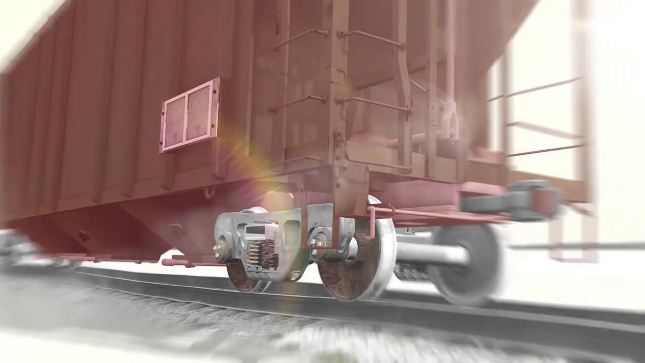 Freight Railcar Rock and Roll - Constant Contact Side Bearings