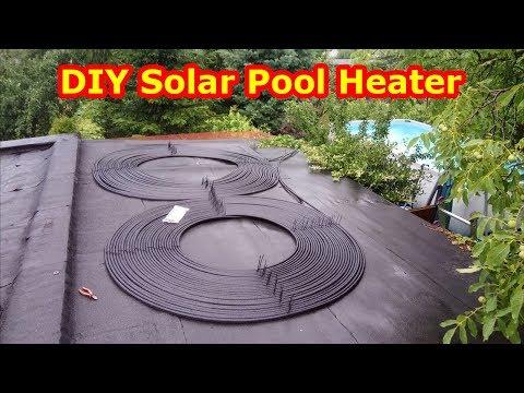 Solar do podgrzewania wody w basenie – DIY Solar Pool Heater