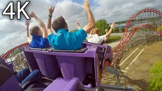 Storm Chaser right rear seat on-ride 4K POV Kentucky Kingdom