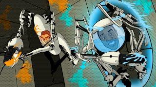 Portal GOO! Aperture Tag Mod w/ Mini Ladd! (Funny Moments)