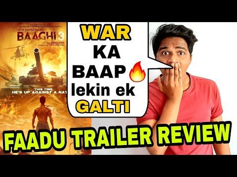 Baaghi 3 trailer public review by Suraj Kumar | Faaltugiri hui ?