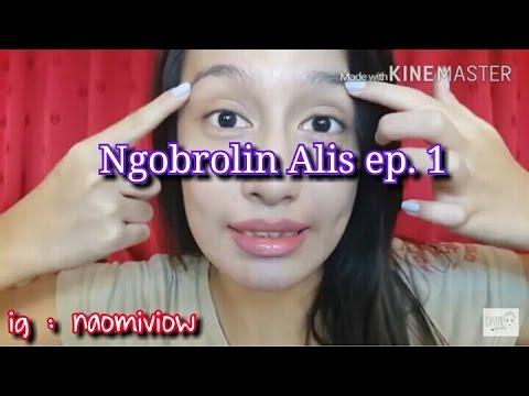 Cara Gambar Alis PEMULA episode 1 (prodak) | naomiviow ...