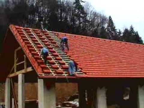 dachdecken your new roof in half a minute must see youtube. Black Bedroom Furniture Sets. Home Design Ideas