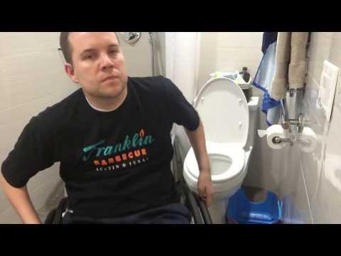 C-5/C-6 Incomplete Quadriplegic - How to Perform an Independent Bowel Program