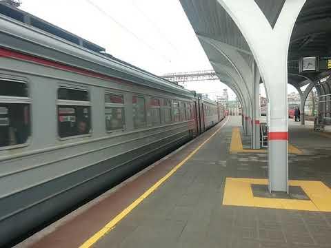 ЭД4М-0320 На станции Москва-Товарная (Павелецкая)