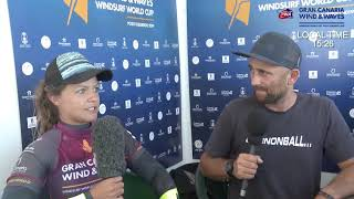 Justyna Sniady Interview Livestream PWA Wave Pozo 2019