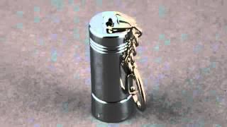 magnetic key for anti theft peg hook lock mkl 46