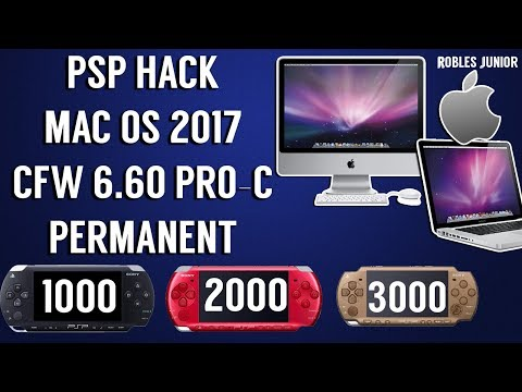 How To Hack Your PSP With MAC OS   CFW 6.60 PRO-C Permanent   2017 Tutorial