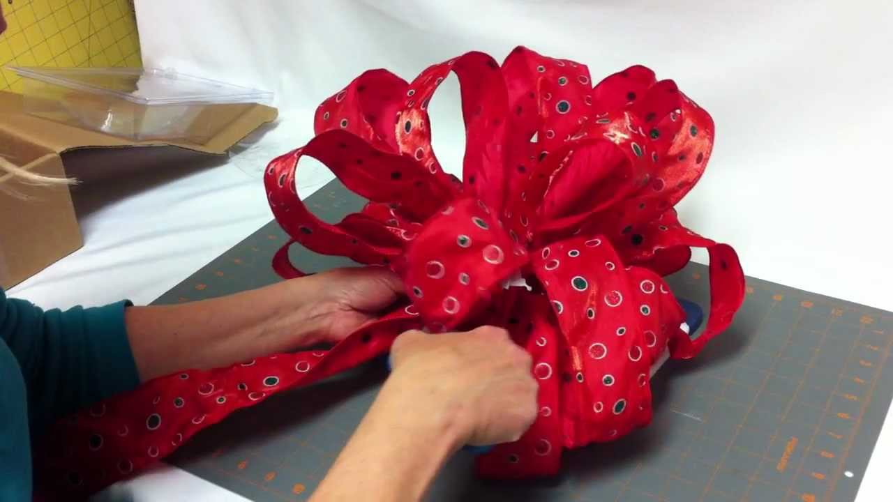 how to assemble your bow dacious tree topper part 3 final youtube