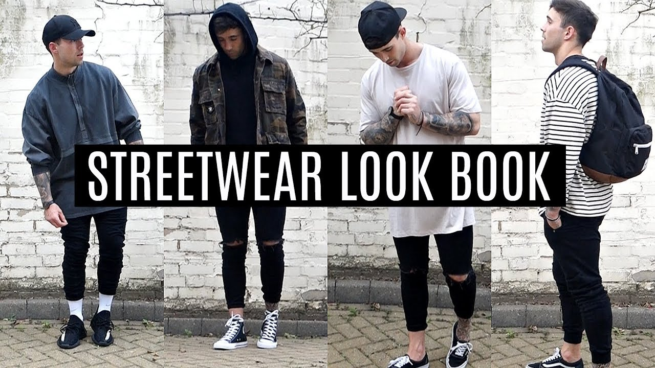 [VIDEO] – STREETWEAR LOOKBOOK | FOUR OUTFIT IDEAS | MENS FASHION 2017