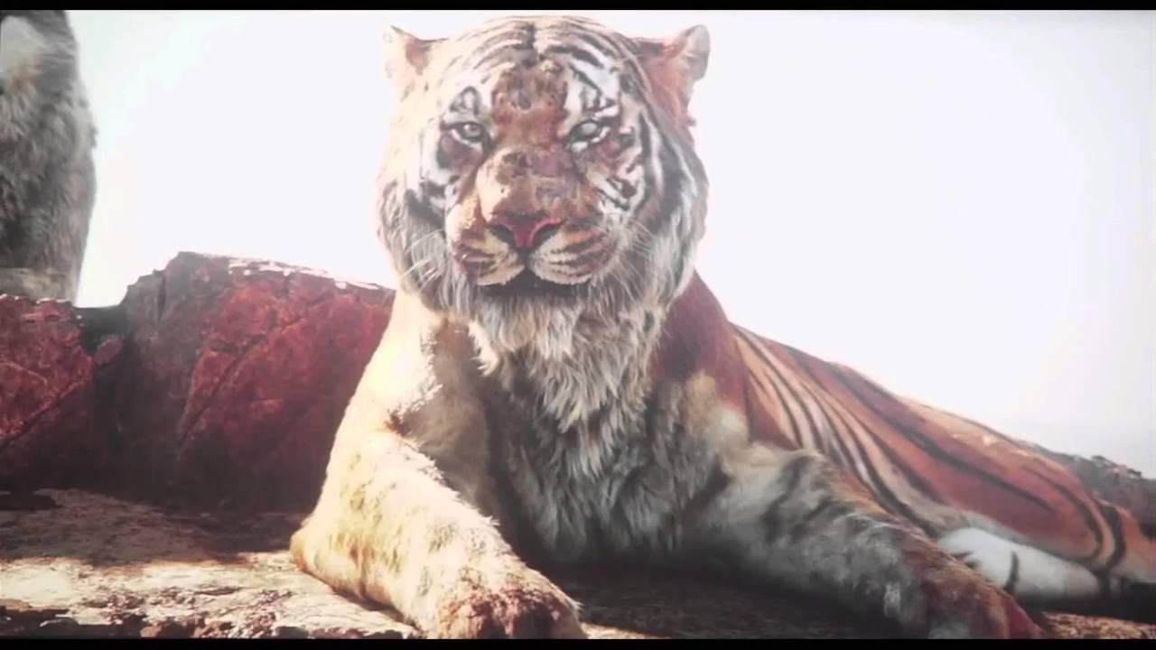 the jungle book shere khan kills akela - youtube