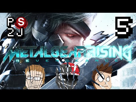 Metal Gear Rising: Revengance EP 5 - The Sleepiest Helicopter