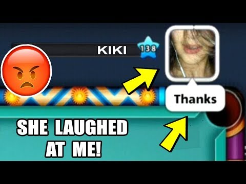 I LAUGHED AT HER MISTAKE IN 8 BALL POOL, WATCH WHAT SHE DID NEXT...(revenge)