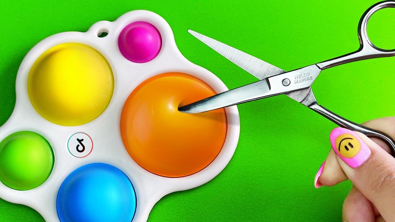 Fidget Toys BARATO vs CARO gastando DINERO en Fidgets Virales - Cuál es MEJOR? Con MAPHIE