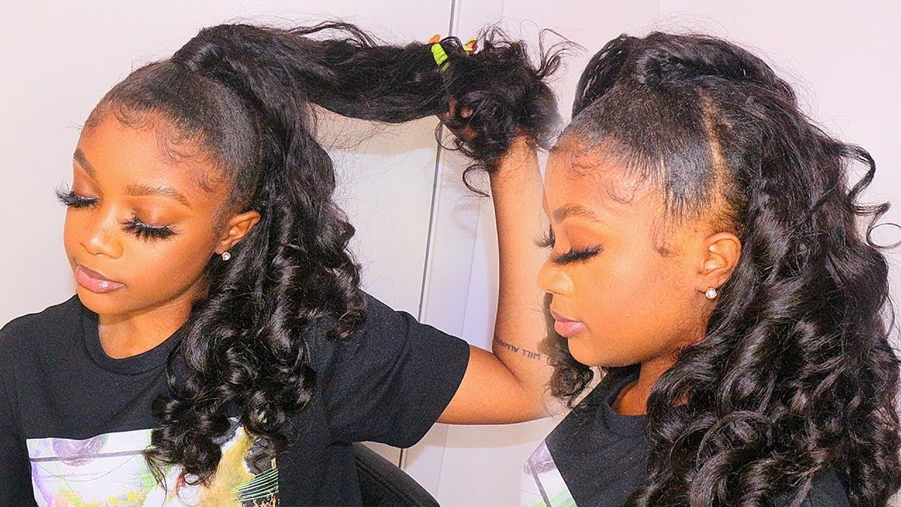 Super Protective Half Up Half Down Quick Weave Method Ft Tinashe Hair