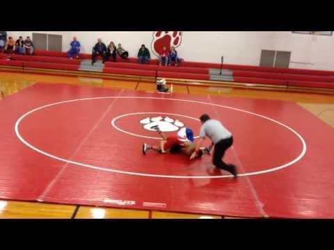 Jonas Anthony Seagle - Hendersonville Middle School - Wrestling