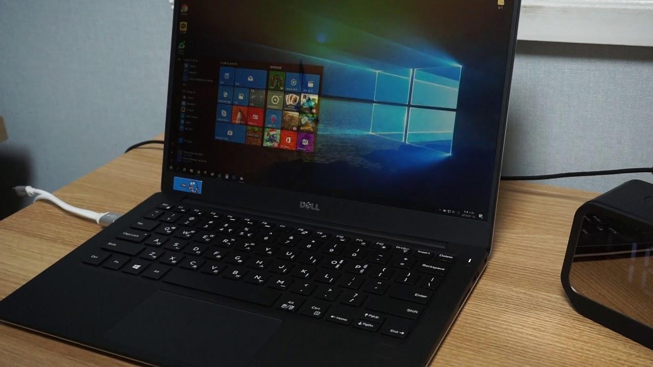 Dell XPS 13 fingerprint reading