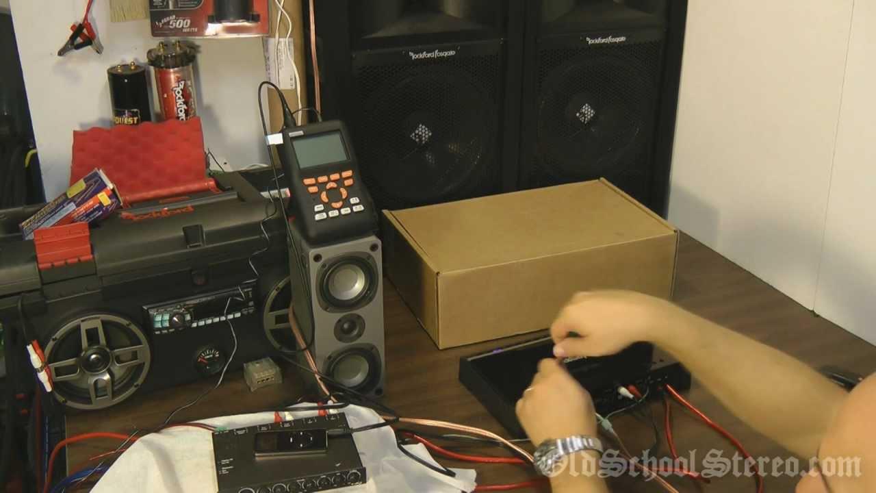 Rockford Fosgate Punch P4004 Test  YouTube