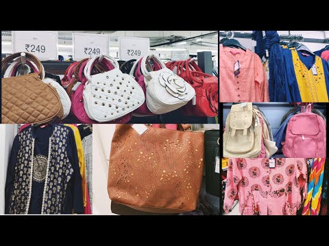 Vishal mega mart tour/ Handbags,  kurtas & kurtis collection/ new arrivals