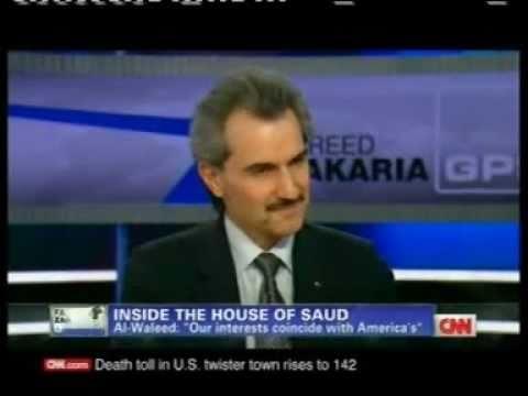 PRINCE ALWALEED BIN TALAL INTERVIEW WITH MR. FAREED  ZAKARIA, GPS-CNN