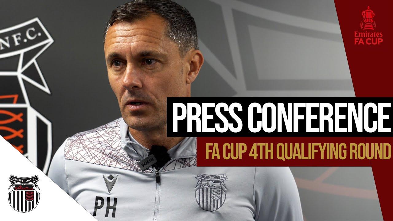 Bromsgrove Sporting (A)   FA Cup   Pre-Match Press Conference