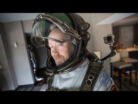 Adam Savage Incognito in the Alien: Covenant Spacesuit!
