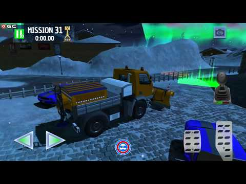 Winter Ski Park Snow Driver – 4×4 Truck, Road Repair Car Games – Android Gameplay FHD #4