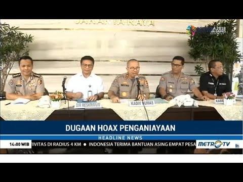 Terkuak ! Polisi Ungkap Dugaan Hoaks Penganiayaan Ratna Sarumpaet