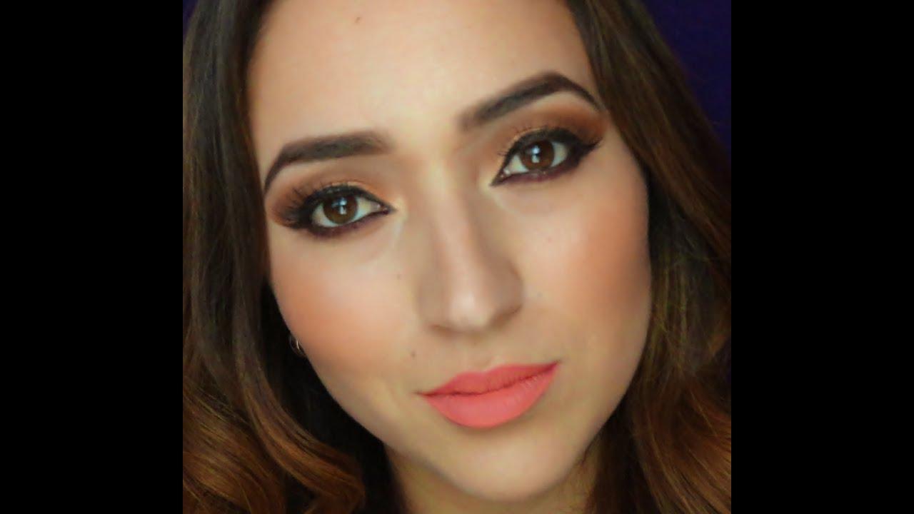 Maquillaje de ojos dramaticos colores tierra - Colores tierra para salon ...