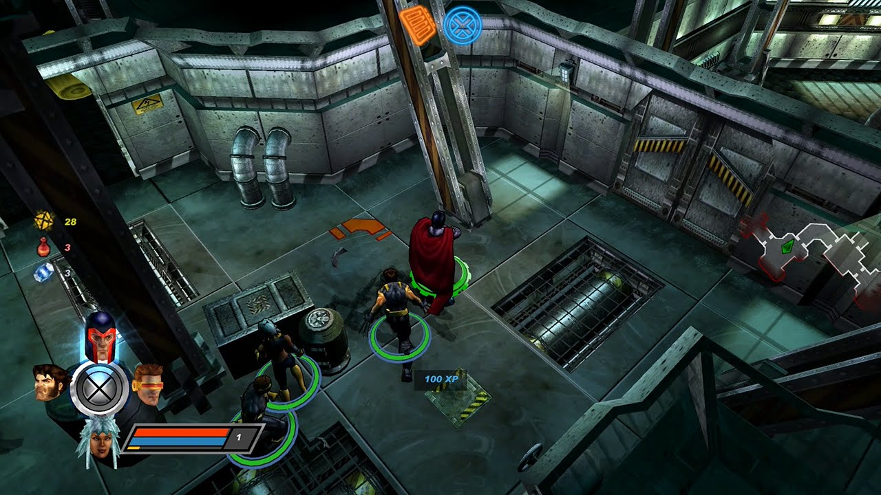 X Men Legends II Rise Of Apocalypse PC Gameplay HD