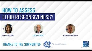 How to assess fluid responsiveness?