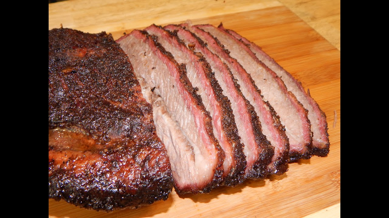 wet aged smoked brisket traeger grill youtube