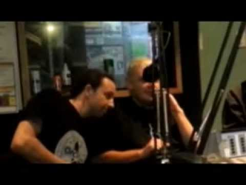 Band member shape shifts in live interview, Proof of Reptilians Illuminati