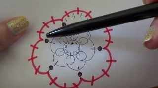 Come leggere gli schemi al CHIACCHIERINO, quattro chiacchiere e piccoli consigli NEEDLE TATTING