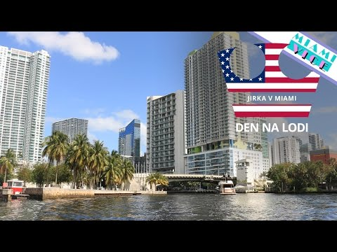 Jirka v Miami - Den na lodi [VLOG]