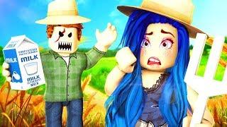 WE MUST ESCAPE THE EVIL FARMER IN ROBLOX!