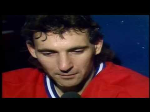 Denis Savard with Canadiens 1990-91