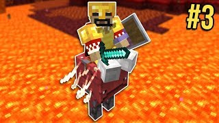 Minecraft: Nether Survival Let's Play Ep. 3 - My First Bastion
