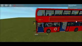 Roblox Enviro 400 MMC Go Ahead Blue Triangle Getting ready to use on N15 Showcase
