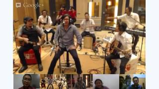 Studio Concert with Ari Lasso Live at Hangout On Air