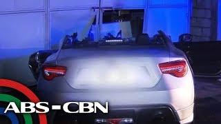 TV Patrol: Drayber patay nang sumalpok ang sports car sa nakaparadang jeep sa Bulacan